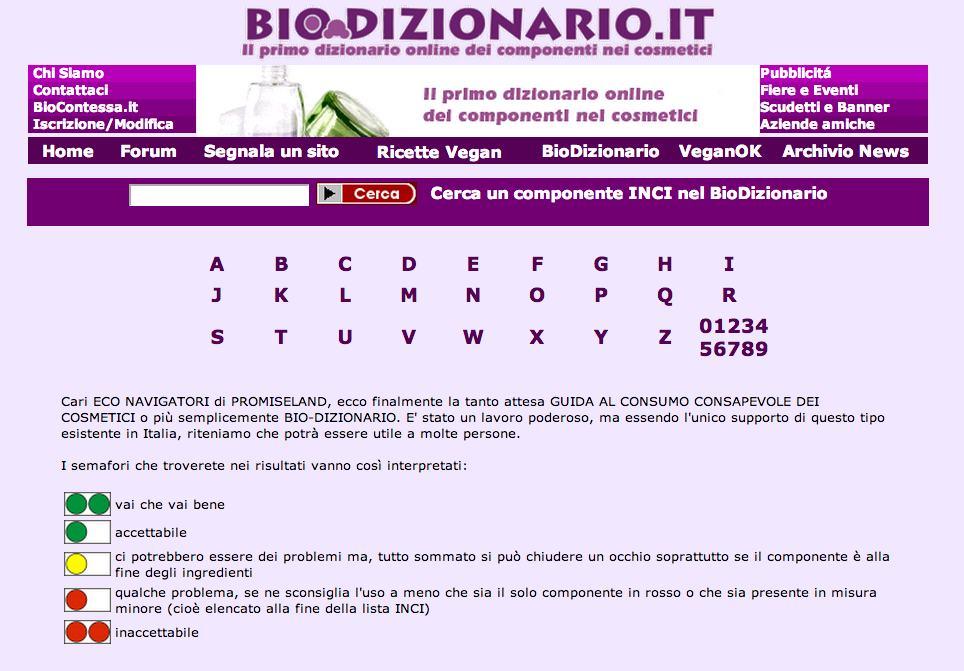 biodizionario