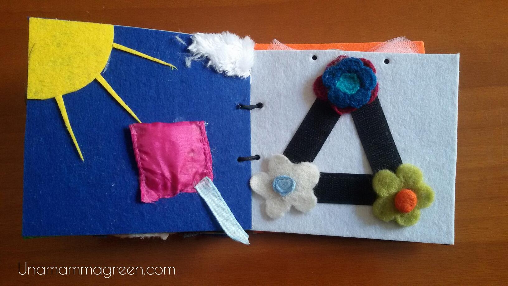 abbastanza Libro tattile fai da te con materiali riciclati - Una mamma green LB42