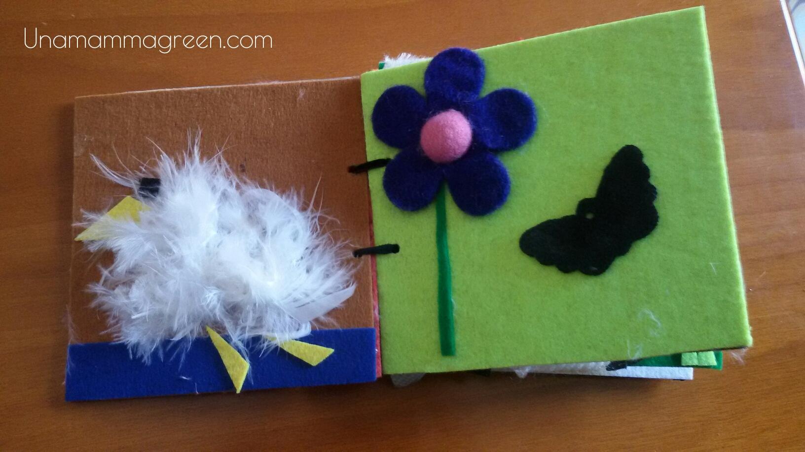 Famoso Libro tattile fai da te con materiali riciclati - Una mamma green TM72