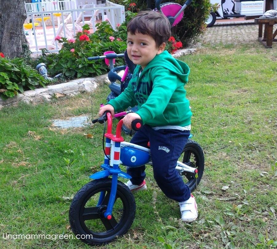 bici senza pedali Imaginarium