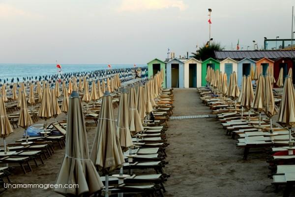 spiaggia villaggio conero