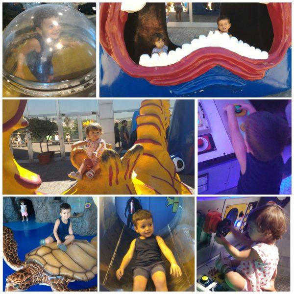 acquario barcellona bambini