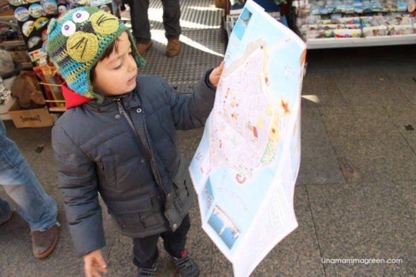andalusia con i bambini mappa