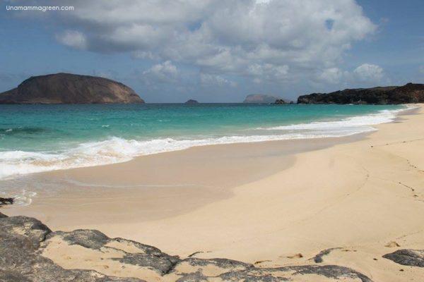 isla graciosa bambini spiagge