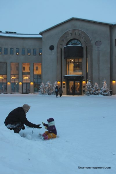 lapponia con bambini museo arktikum