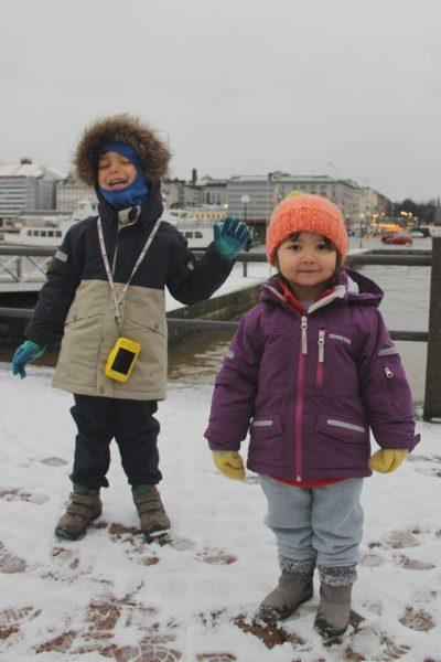 helsinki con i bambini baltico