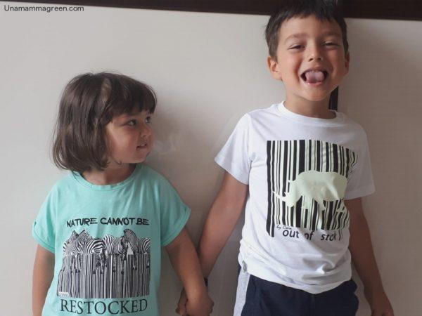 abbigliamento naturale per bambini