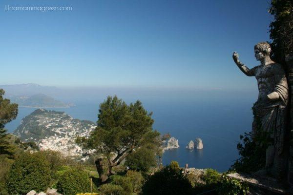 campania con bambini Capri