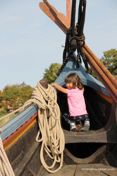 navi vichinghe roskilde bambini