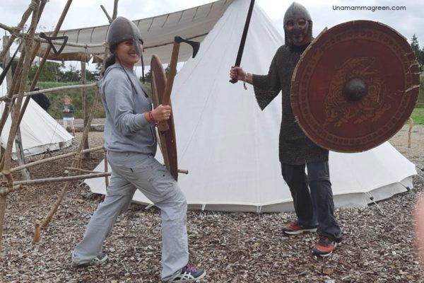 ribe vikingecenter con bambini