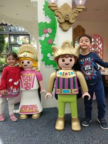 norimberga con i bambini playmobil park
