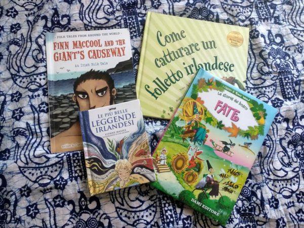 preparare i bambini a un viaggio in irlanda_libri