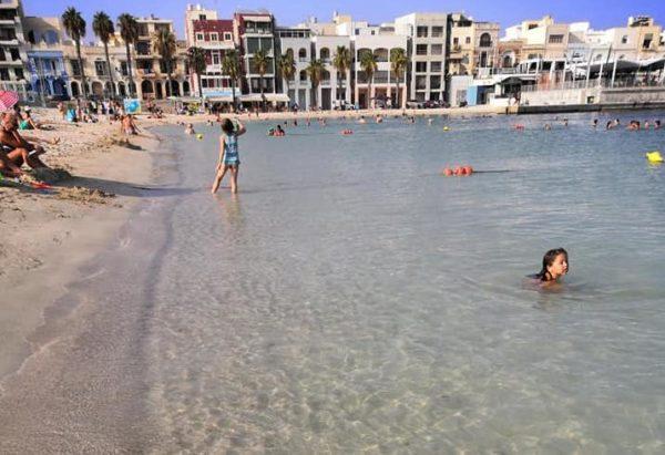 spiagge di sabbia a Malta