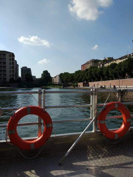 crociera sui navigli a Milano con i bambini