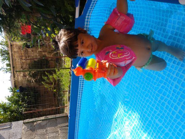 piscina da giardino piccola