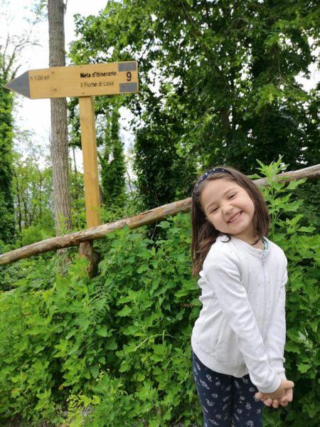 parco del vesuvio con bambini