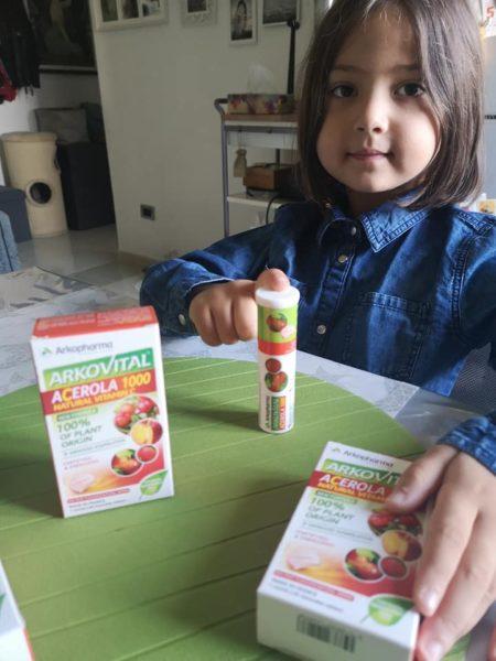 vitamina c per bambini