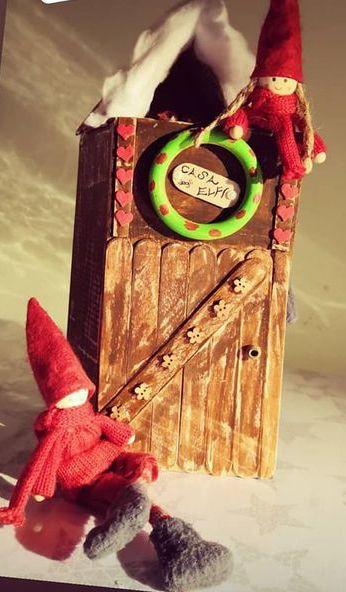 elfo di natale per bambini