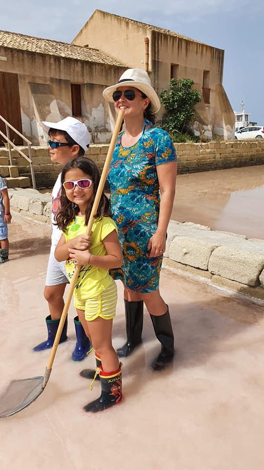 Sicilia con bambini saline di Marsala