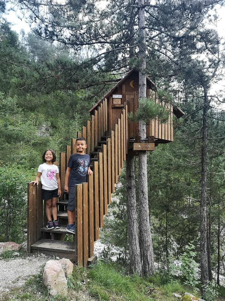 Friuli con i bambini tree village